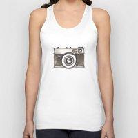 vintage camera Tank Tops featuring Vintage Camera by Svitlana M