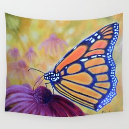 King of butterfly   Le roi des papillons Wall Tapestry