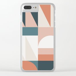 Cirque 05 Abstract Geometric Clear iPhone Case