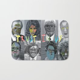 Trust in us Bath Mat