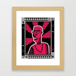 1001 Black Men--#216 Framed Art Print