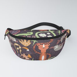Rain forest animals 002 Fanny Pack