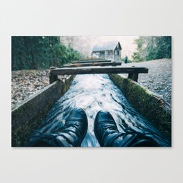 Wet Mill Canvas Print