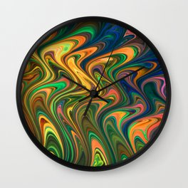Crazy on You Wall Clock