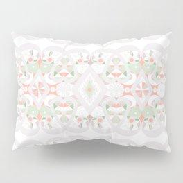 Seamless lacy lace pattern background Pillow Sham