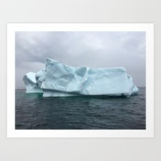 Iceberg Alley Art Print
