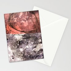 lines & texture 4 Stationery Cards