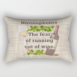 Novinophobia Rectangular Pillow