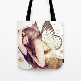 Sleeping Fairy Tote Bag