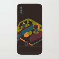 brown iPhone & iPod Cases featuring Brown by Marce Farce