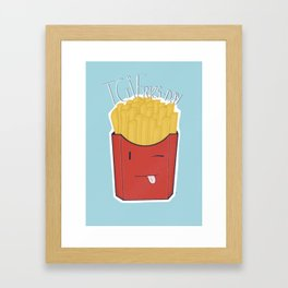 TGIF Framed Art Print