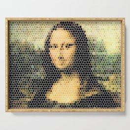Mona Lisa - Leonardo Da Vinci. Serving Tray