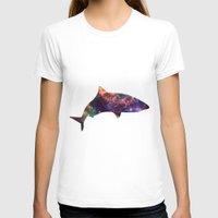 shark T-shirts featuring Shark by Lucas de Souza
