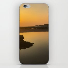 beautiful braystone beach sunset iPhone Skin