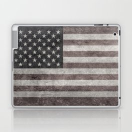 American flag, Retro desaturated look Laptop & iPad Skin