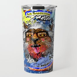 Gee The Party Wolf Remixed Travel Mug