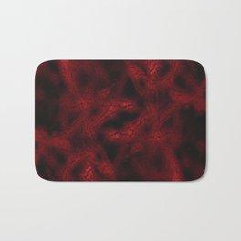 Red fantasy pattern Bath Mat