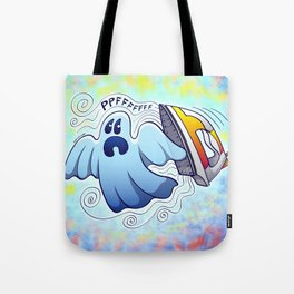 Ghost Ironing Nightmare Tote Bag