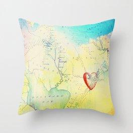 OCNJ Take Me There Throw Pillow