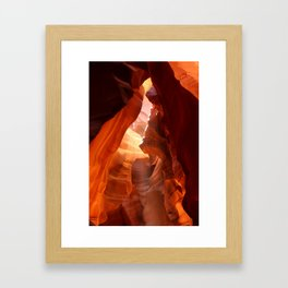 A Canyon Sculptured By Water Framed Art Print