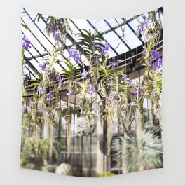 Orchids in the Air  //  The Botanical Series Wall Tapestry