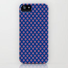 Patriotic Pattern   United States Of America USA iPhone Case