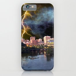 Stormy Richmond Skyline iPhone Case