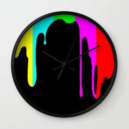 Colour Test Wall Clock