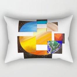 Eight Planets United Rectangular Pillow