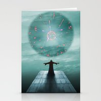 nordic Stationery Cards featuring Nordic magician by Tony Vazquez