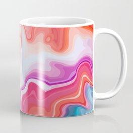 Vintage Colors Liquid Agate Gem Coffee Mug