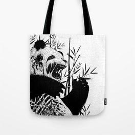 Panda Z Tote Bag
