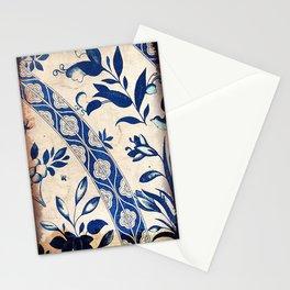 Blue Oriental Vintage Tile 04 Stationery Cards