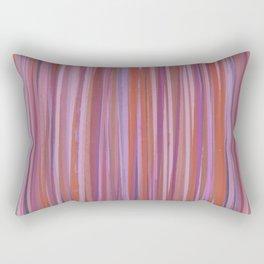 Gazebo Grasses Pink Rectangular Pillow