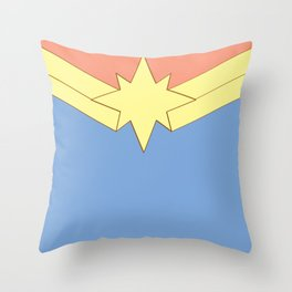 Carol Corps Throw Pillow