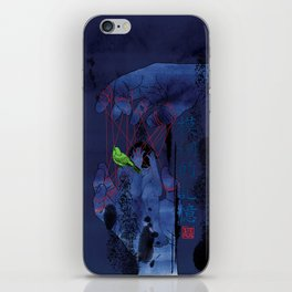 Fade Into The Blue-模糊的记忆 iPhone Skin