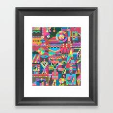 Schema 17 Framed Art Print