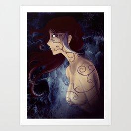 Tentacles of Darkness Art Print