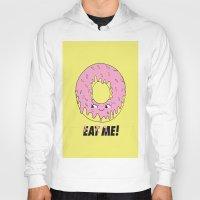 donut Hoodies featuring Donut by Eduardo Doreni