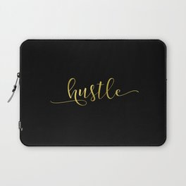Hustle in gold Laptop Sleeve