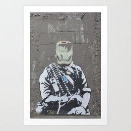 Iron Street Art Print