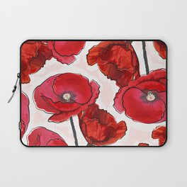 the poppy Laptop Sleeve