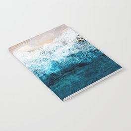 Watercolour Summer beach III Notebook