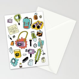 Survival Tools Stationery Cards