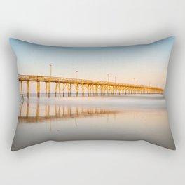 Pier Reflection Rectangular Pillow