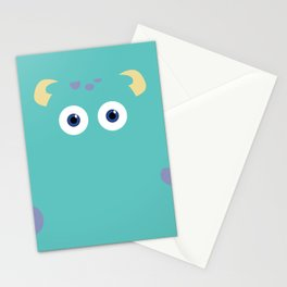 PIXAR CHARACTER POSTER - Sulley 2- Monsters, Inc. Stationery Cards
