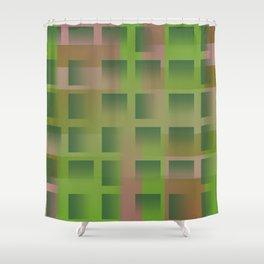 gradient space 03 Shower Curtain