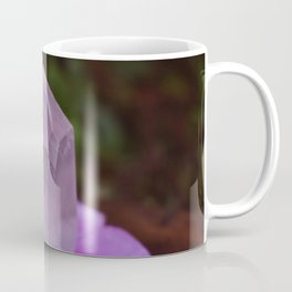 Rose Quartz with flower petals Coffee Mug