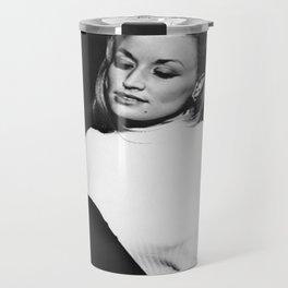 Saint Dolly Parton Portrait Travel Mug