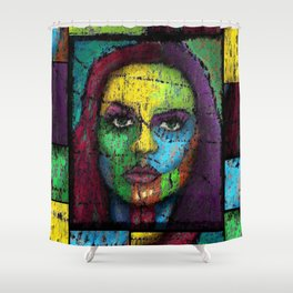 Of Pain and Happiness Forgotten Shower Curtain